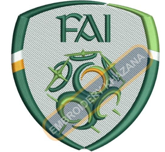 1486360254_Football Association of Ireland fai logo embroidery.jpg